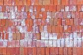 красные глиняные кирпичи. — Стоковое фото