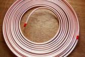 Copper pipe. — Stock Photo
