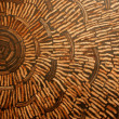 Coconut shell wall. — Stockfoto