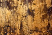 Old plaster walls yellow. — Stock Photo