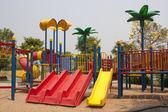Parc d'attractions pour les enfants. — Photo