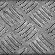 Aluminum Sheet Dirty Old Slip. - Stock Photo
