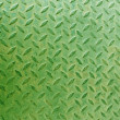 Foto Stock: Steel plate slip green