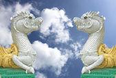 Serpente do céu de Tailândia. — Fotografia Stock