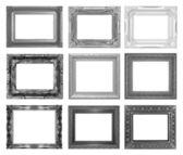 Marco conjunto aislado sobre fondo blanco — Foto de Stock