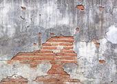 旧红砖壁. — 图库照片
