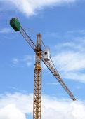 Construction cranes. — Stock Photo