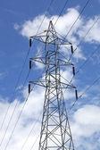 High voltage — Stock Photo