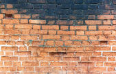 Old red brick wall. — Stock Photo