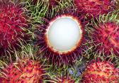 Rambutan rambutan tropické ovoce — Stock fotografie