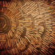 Coconut shell wall. — Stock Photo #39335559