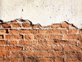 Abstract red brick wall — Stock Photo