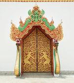 佛教寺庙墙 — 图库照片