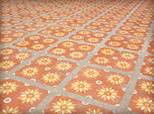 Tile walkway — Stock Photo