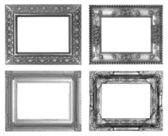 Stříbrný fotorámeček — Stock fotografie