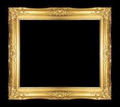 Antique gold frame — Stock Photo