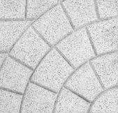 Stone block pavement — Stock Photo