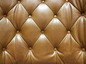 Brown leather. — Stock Photo