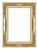 Antique gold frame — Stock Photo