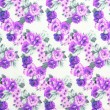 Floral background textile blinds. — Stock Photo