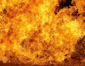 燃烧的火 — 图库照片