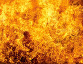 Hořící oheň — Stock fotografie