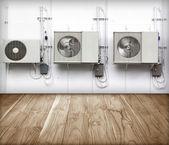 Air condenser. — Stock Photo