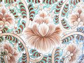 Cerâmica de parede flor — Foto Stock