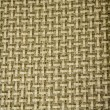 Textile flax fabric wickerwork texture striped — Stock Photo