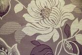 Tekstura tkanina kolor z kwiatami — Zdjęcie stockowe