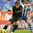 Sebastian Fernandez of Malaga CF — Stock Photo