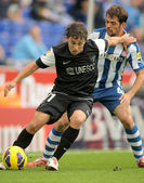 Sebastian Fernandez of Malaga CF — Stock Photo