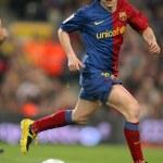 Постер, плакат: Andres Iniesta of FC Barcelona