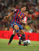 Zlatan Ibrahimovic of FC Barcelona — Stock Photo