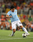 Carlos Tevez of Manchester City — Stock Photo