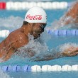 Japanese olympic champion Kosuke Kitajima — Stock Photo