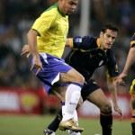 Brazilian player Ronaldo — Stock Photo #15543087