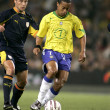 Постер, плакат: Brazilian player Ronaldinho