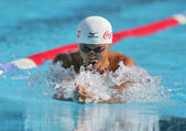 Japanese olympic champion Kosuke Kitajima — Stock Photo