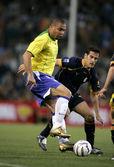 Brazilian player Ronaldo — Stock Photo