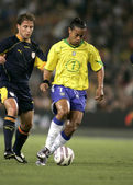 Brazilian player Ronaldinho — Stock Photo