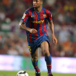 Futbol Club Barcelona player Seydou Keita - Stock Photo