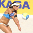 Brazilian beach Volley player Ana Paula Connelly - Stock Photo