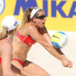 North American beach Volley player April Ross - Stock Photo