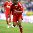 Ryan Babel, Dutch player of Liverpool FC — Stock Photo