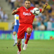 Andrea Dossena, Italian player of Liverpool FC - Stock Photo