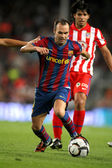 Andres Iniesta of Barcelona — Stock Photo