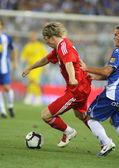 Fernando Torres, Spanish player of Liverpool FC — Stock Photo