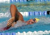 Australian Olympic champion swimmer Grant Hackett — 图库照片