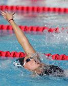 American Olympic champion swimmer Kaitlin Sandeno — Stock Photo